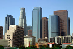 Los Angeles, im Stadtzentrum gelegen Lizenzfreies Stockbild