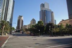 Los Angeles im Stadtzentrum gelegen Stockbild