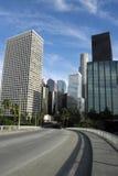 Los Angeles im Stadtzentrum gelegen Lizenzfreies Stockbild