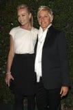 Portia De Rossi,Portia deRossi,Ellen De Generes Stock Photo