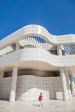LOS ANGELES - JUNE 1: The J. Paul Getty Museum Stock Photos