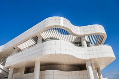 LOS ANGELES - JUNE 1: The J. Paul Getty Museum Royalty Free Stock Image