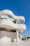 LOS ANGELES - JUNE 1: The J. Paul Getty Museum Stock Image