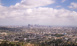 Los Angeles, Kalifornia Wspaniała panorama megacity Obrazy Royalty Free