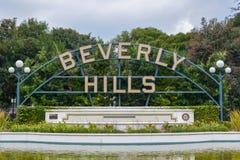 Los Angeles, Kalifornien, USA - 5. Januar 2019: Beverly Hills Sign stockbild