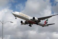 Emirates Boeing 777-31HER Arkivbild
