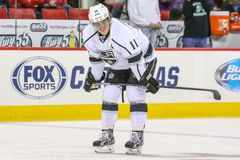 Los Angeles Kings center Anze Kopitar Stock Photo
