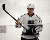 Los Angeles Kings Tyler Toffoli Fotografia Stock
