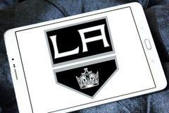 Los Angeles Kings zamraża drużyna hokejowa loga Obrazy Stock