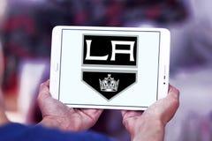 Los Angeles Kings zamraża drużyna hokejowa loga Obraz Stock