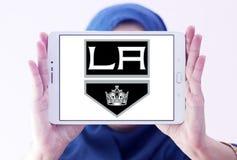 Los Angeles Kings zamraża drużyna hokejowa loga Zdjęcia Stock