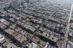 Los Angeles Korea miasteczka antena fotografia royalty free