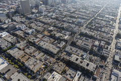 Los Angeles Korea Town Aerial Royalty Free Stock Photography