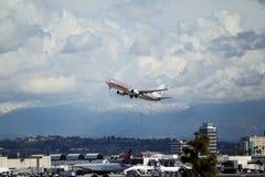 American Airlines Boeing 737-823 Fotografia Stock Libera da Diritti