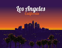 Los Angeles la Californie Image stock