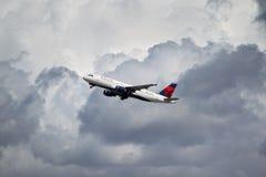 Delta Airlines Airbus A320-212 Image libre de droits