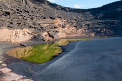 Los Angeles Laguna De Los Ciclos, Lanzarote Obraz Royalty Free