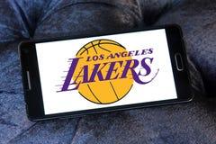 Los Angeles Lakers american basketball team logo Royalty Free Stock Photo