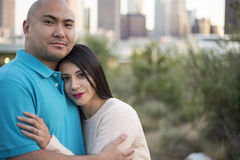 Los Angeles Latin Couple Stock Photography