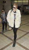 LOS ANGELES - le chanteur Kesha est vu chez LAX photographie stock libre de droits