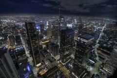 Los Angeles lights stock photo