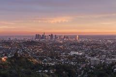 Los Angeles magitimme royaltyfri bild