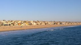 Los Angeles Manhattan Beach Fotografia Stock Libera da Diritti