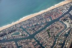 Los Angeles marina royaltyfria foton