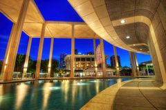 Los Angeles Mark Taper Forum immagini stock