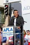 Los Angeles Mayor Anthony Villaraigosa At APLA Stock Photography