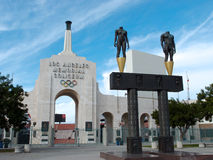 Los Angeles Memorial Coliseum Royalty Free Stock Photography