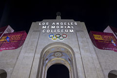 Los Angeles Memorial Coliseum Royalty Free Stock Photos