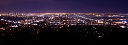 Los Angeles Metro Area Stock Photos