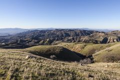 Los Angeles Mountain Parks Stock Photography