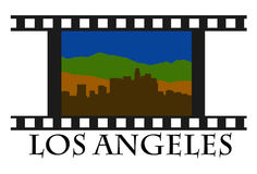 Los Angeles movie Royalty Free Stock Photos