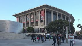 The Los Angeles Music Center. The Dorothy Chandler Pavilion, part of the Los Angeles Music Center stock video footage