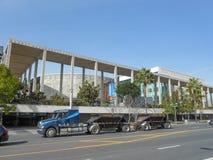 Los Angeles musikcentrum Arkivbild