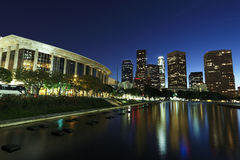 Los Angeles at night Stock Photos