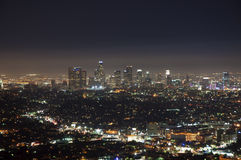 Los Angeles Night Stock Photography