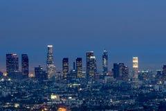 Los Angeles at Night Stock Photo