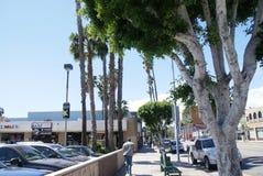 Los Angeles no calor de Hollywood Fotografia de Stock Royalty Free