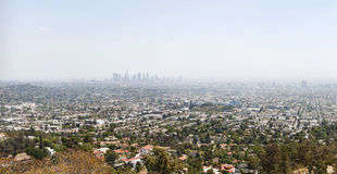 Los Angeles no meio-dia foto de stock
