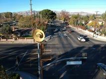 Los Angeles obrony cywilnej syreny Obrazy Stock