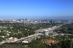 Los Angeles ocidental foto de stock