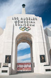Los Angeles Olympic Coliseum royalty free stock photos