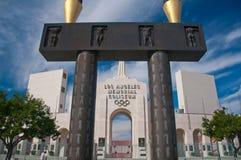 Los Angeles Olympische Coliseum Stock Afbeeldingen