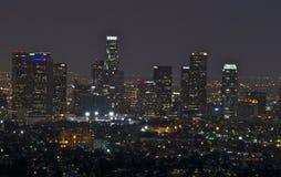 Los Angeles, paesaggio urbano Immagini Stock Libere da Diritti