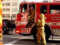 Los Angeles palacze przy pracą obraz royalty free