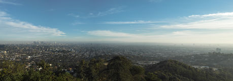 Los Angeles Panorama Royalty Free Stock Photo