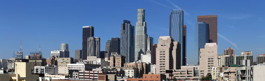 Los Angeles Panorama stock images
